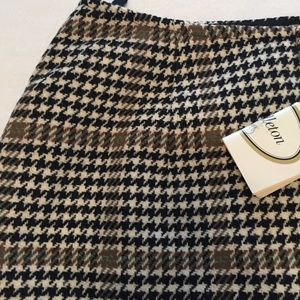 Pendleton Wool  Lined Skirt size 10